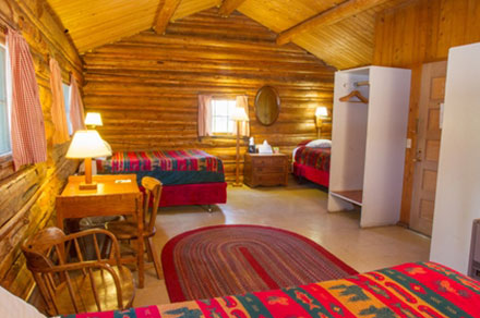One Room Cabins colter bay village