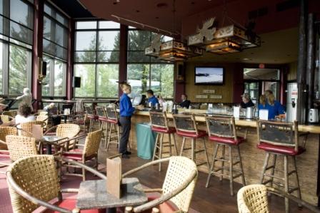 Blue Heron Lounge   Jackson Lake Lodge Part 42