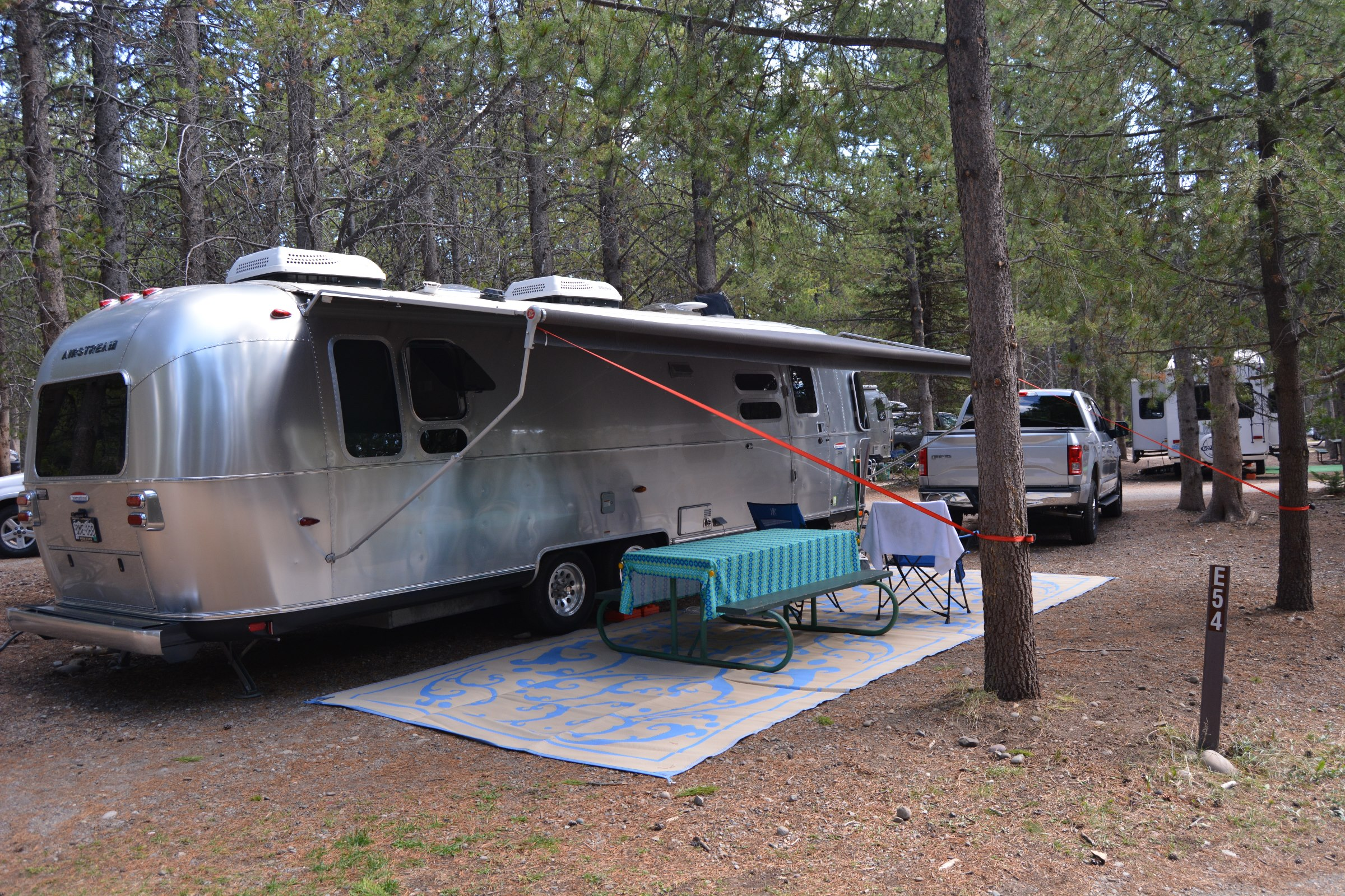 Rv Camping In Grand Teton