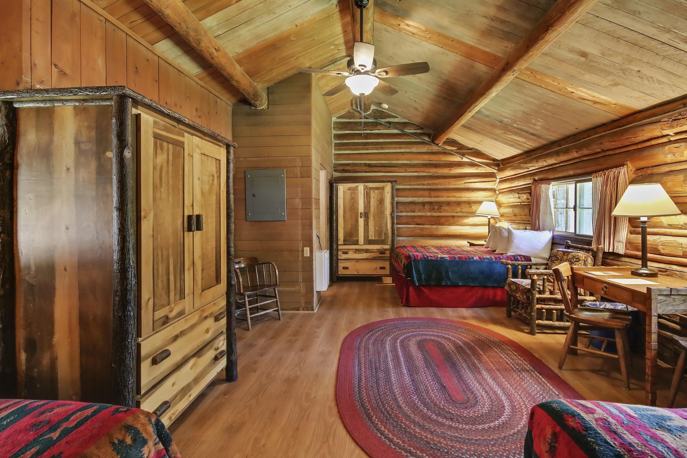 Colter bay village for One room log cabin
